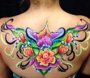 a back piece by Laura Oliver